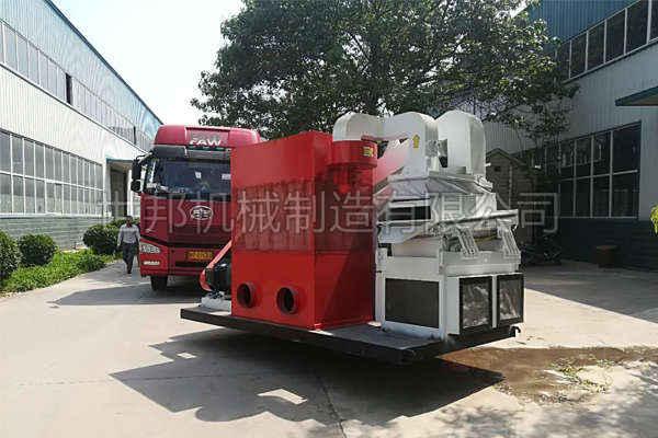 香港用户全自动铜米机发货现场
