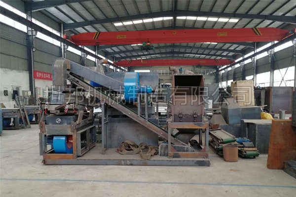 干式铜米机提高杂线处理产量