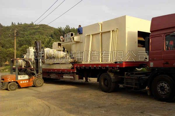 电路板分离回收设备发货现场
