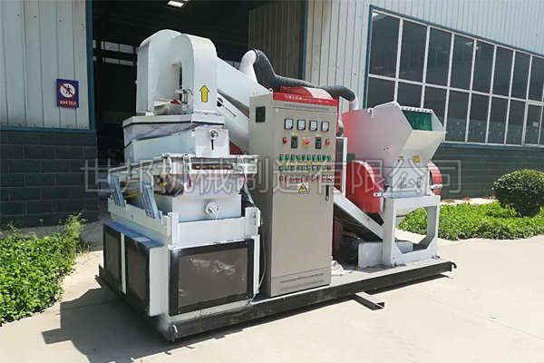 干式铜米机分选效果及设备特性