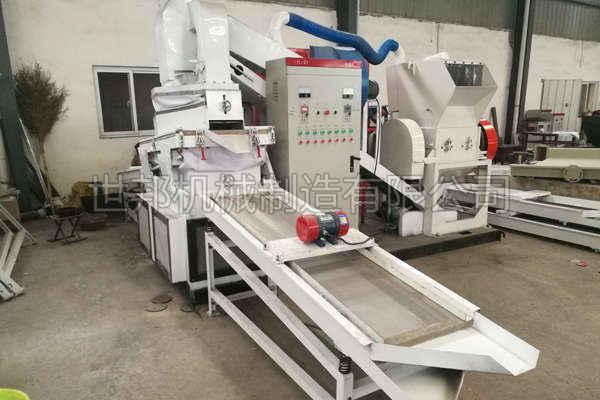 大型铜米机生产线的安装和调试